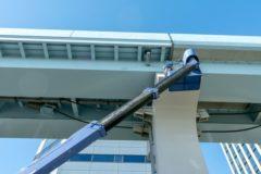 維持管理が重要な橋の塗装